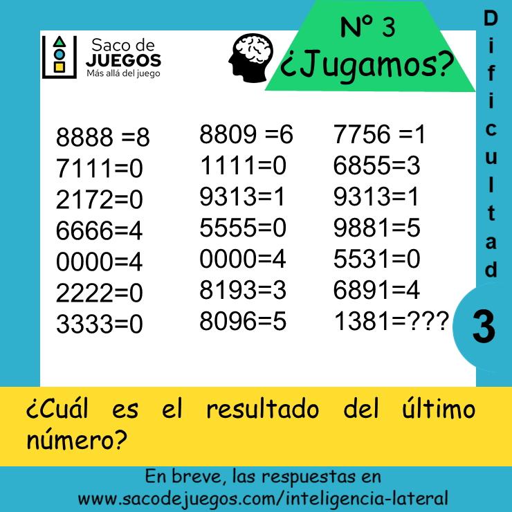 Los cuatro números